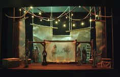 The Fantasticks, Design by Lance Cardinal - ohhh the lights remind me of our production of it!