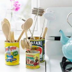 Recicle e deixe ainda mais charmosa sua cozinha