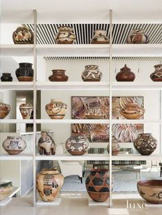 Living Room Pottery Collection