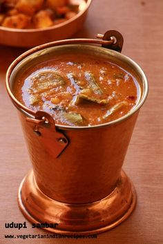 udupi sambar - tasty sambar recipe for idli, dosa, rice  #indianfood #food…