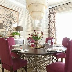 delight by design: Drama in the Dining Room