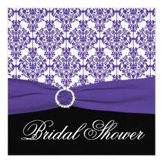 Black purple lingerie bridal shower invitation purple black black purple lingerie bridal shower invitation purple black bridal invitations pinterest lingerie bridal showers purple lingerie and shower filmwisefo
