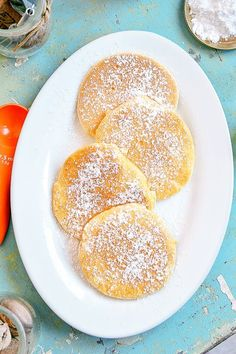 Yogurt Pancakes, Kids Menu, Healthy Breakfast Smoothies, Happy Foods, Polish Recipes, Sweet Desserts, Food Cakes, Food Dishes, Cake Recipes