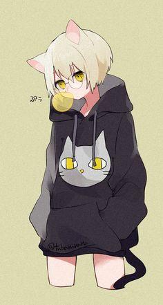 ㊗ Tv Anime, Anime Neko, Kawaii Anime Girl, Anime Art Girl, Anime Guys, Character Inspiration, Character Art, Character Design, Otaku