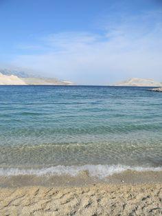 Island of Pag, Ručica beach. Heaven on earth.