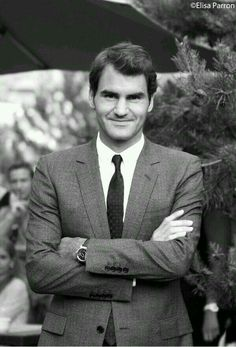 Roger Federer in Gstaad