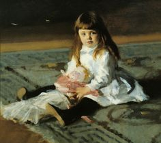 A Daughter of Edward Darley Boit by John Singer Sargent | Art Posters