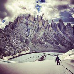 Visit Patagonia :  skiing, hiking, climbing, surfing...