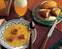 Wisconsin Cheddar, Swiss And Beer Soup | Wisconsin Milk Marketing Board