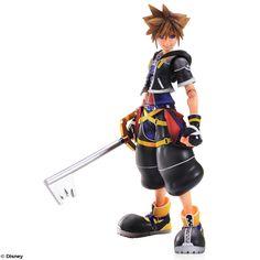 Kingdom Hearts II Play Arts Kai figurine Sora Square-Enix