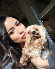 Posted by Christian Serratos (Rosita Espinosa)  Ive always wanted to kiss Elvis.  #ChristianSerratos #TWD #TheWalkingDead November 12 2015 at 12:25AM