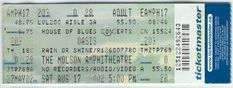 OASIS 2002 Full Ticket MOLSON AMPHITHEATER Toronto Rare House Of Blues Mint  From The Mighty Finwah Collection  Safely Stored For Over 17 Years   UNIQUE ITEMS FOR UNIQUE PEOPLE  Shipping will be within 2 days of your payment  All Sales are Guaranteed Satisfaction  We are Fans so we know what fans Expect Concerts, Oasis, Ticket, Toronto, Blues, Mint, Unique, People, Collection