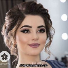 Over 90 Vintage Makeup Ideas That Highlight Your Beauty – Page 23 – # Ideas … - Wedding Makeup For Fair Skin Bridal Hair And Makeup, Bride Makeup, Wedding Hair And Makeup, Hair Makeup, Indian Wedding Makeup, Makeup Lips, Makeup Set, Indian Eye Makeup, Mauve Makeup