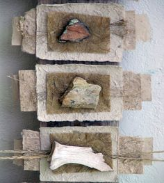 Mary-Ellen Campbell - Rocks and Bones Books from Natural Materials