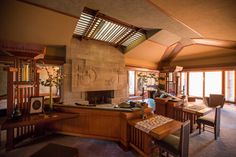 A Full Tour Through Frank Lloyd Wright's First LA House, Restored to Its 1920s Beauty - Curbed Inside - Curbed LA