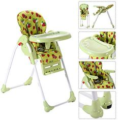 Baby Active New Portable Baby Chair/high Chair Harness Red Floral Finely Processed Other Baby Safety & Health