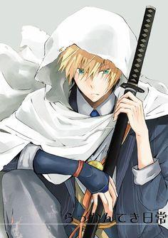 Art Manga, Manga Anime, Anime Art, Sad Anime, Anime Guys, Male Cartoon Characters, Samurai Anime, Mutsunokami Yoshiyuki, Kurotsuki