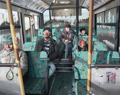 Shih Yung Chun, 'Hong Kong x Japan. C - Bus Ride,' 2014, Art Experience Gallery
