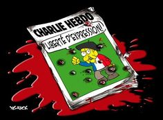 Charlie Hebdo issue No. 1178 was published on 14 January It was the first issue after the Charlie Hebdo shooting on 7 January Arnold Schwarzenegger, The New Yorker, Caricatures, Anne Sinclair, Charlie Hebdo, Freedom Of Speech, Expressions, Paris, Lineup