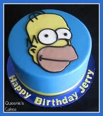 another homer simpson cake!