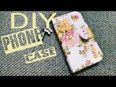 How to Crochet Mobile Cell Phone Pouch for iPhone Samsung - Crochet Ideas Diy Wallet Phone Case, Cell Phone Pouch, Homemade Phone Cases, Crochet Phone Cases, Crochet Mobile, Nail Polish Crafts, Crochet For Beginners Blanket, Easy Crochet Projects, Crochet Ideas