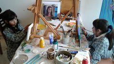 Clase de Pintura Viernes 11 de marzo 2016 | siento22mundos