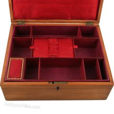 Antiques Atlas - Sycamore Inlaid Sewing Box.  sc 1 st  Pinterest & inside!!! Antiques Atlas - Victorian Sewing Box / Work Box | just ... Aboutintivar.Com