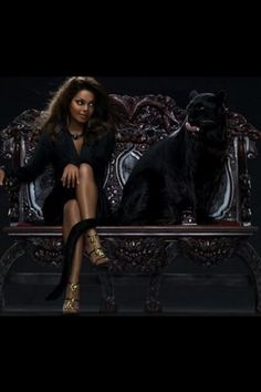 Janet Jackson and Panther