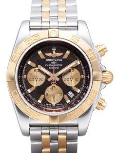 Breitling Chronomat 44 CB011012.Q576.375C Edelstahl Rosegold Braun