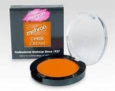 mehron orange creme blush -