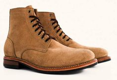 Viberg Boondocker Horween Leather Shoes