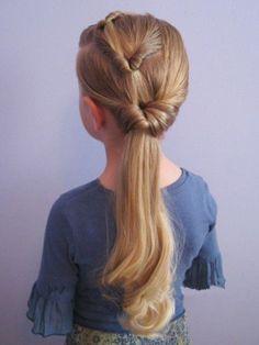 Прически на длинные волосы для девочек на 1 сентября фото и видео идеи - 24 Июня 2014 - Прически, Стрижки 2014-2015 - Модные красивые прически и стрижки 2014-2015 фото видео