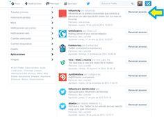 Cómo revocar el acceso a una aplicación en Twitter