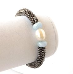 20 off SALE Freshwater Pearl Bracelet by connectionsbymaya on Etsy, $27.20