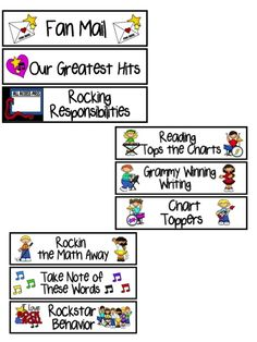 Mrs. Rings K-Crew Kids Rock!!: Rock Star Classroom Printables#Repin By:Pinterest++ for iPad#