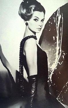 The Shrimp by Henry Clarke for Vogue UK - 1962