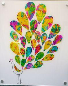 Bri-coco de Lolo: Paon multicolore
