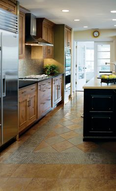 Explore Inspirational Kitchen Floor Ideas And Many Spectacular Hand Painted  Tiles For Floors And For All Of Your Floor Tile Design Projetcs.
