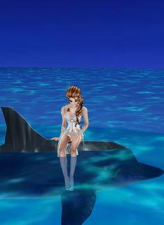 Con El Delfin ^^ Princess Zelda, Fictional Characters, Art, Dolphins, Art Background, Kunst, Performing Arts, Fantasy Characters, Art Education Resources