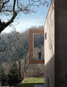 Haus - Ein gesamtheitliches Gestaltungskonzept in Linz Minimalist Architecture, Art And Architecture, Minimalist Design, Arch House, Window Benches, Form Design, Design Studio, Clever Design, Windows