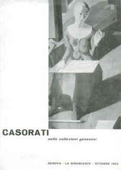CASORATI NELLE COLLEZIONI GENOVESI - La Rinascente, ottobre 1963