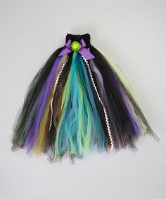 Take a look at this Black & Purple Tutu Dress - Infant, Toddler & Girls by Pink Laundry Boutique on #zulily today!