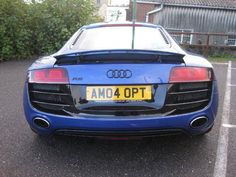 2009 Audi R8 5.2 FSI Quattro 2-door coupe. Blue. Click on pic shown for loads more.