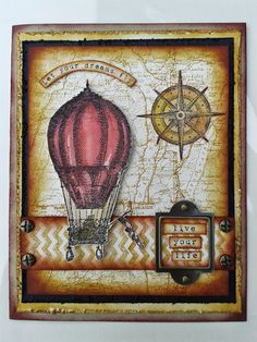 Crafty Little Ideas: Up and away!