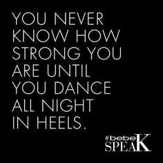 Heel dancing