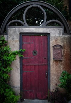 The Red Door - St. Augustine, Florida (By Greg Waters)