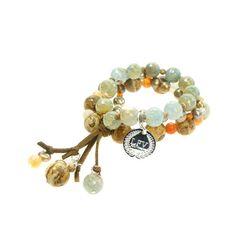 Love From Venus Bohemian Romance Triple Bracelet $130
