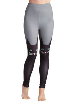 Hook, Feline, and Sinker Leggings | Mod Retro Vintage Pants | ModCloth.com