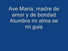 Maite Perroni Ave Maria With Lyrics ♥