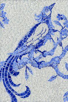 bird, lapi lazuli, blue, glass opal, tile, branch, hous, mosaic, lapis lazuli